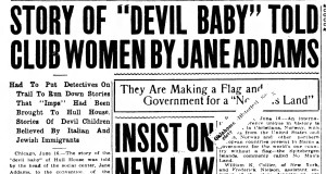Headline from the Muskogee Times-Democrat, June 16, 1914.
