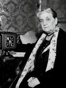 Jane Addams in 1935.