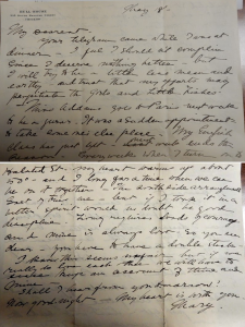Letter from Mary Hill Dayton to Gerard Swope sent from Hull-House.