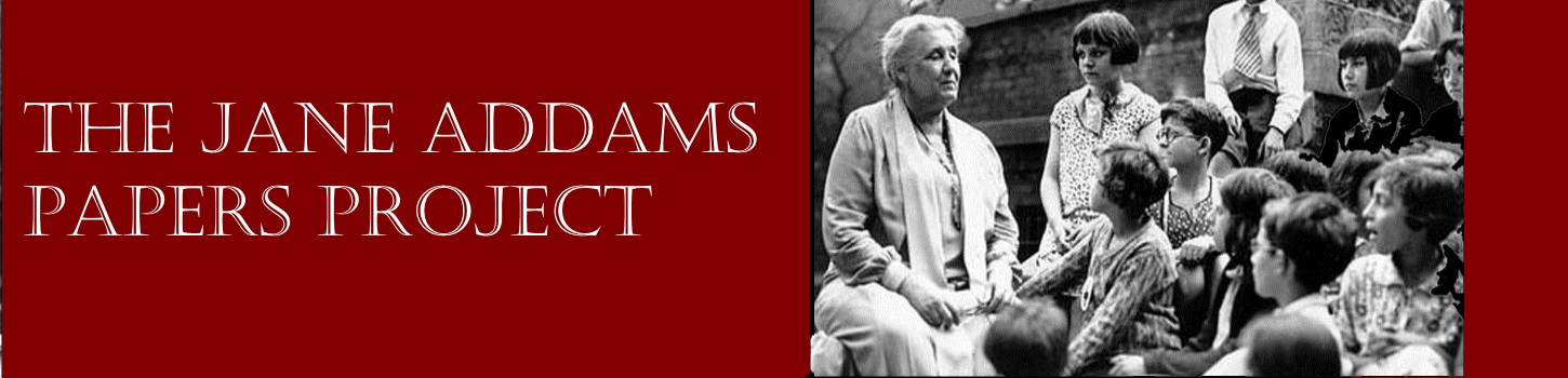 Jane Addams Papers Project